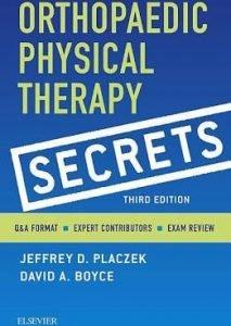 Ortho secrets to study for the OCS exam